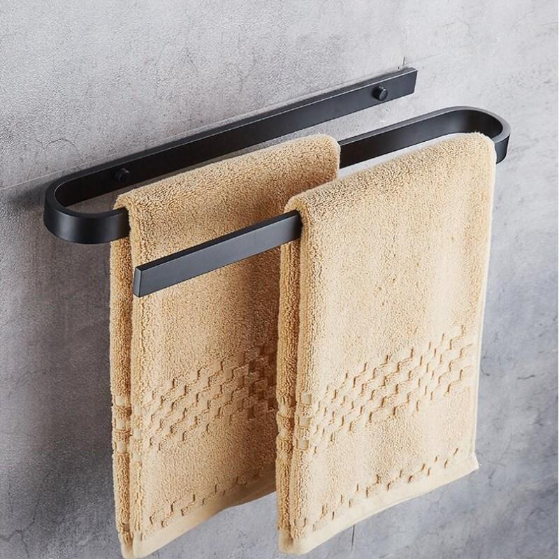 Unique design aluminum alloy wall mounted Towel bar Holder ...