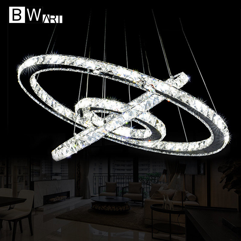 где купить BWART Modern LED Crystal Chandelier Lights Lamp avize For Living Dining Room Cristal Lustre Chandeliers Hanging Fixtures по лучшей цене