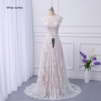 Vinca Sunny 2017 Bridal Boho Lace Wedding Dress 2018 Wedding Dresses Court Train Vestidos De Noiva