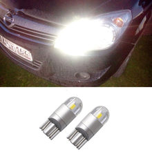 2x feux de dégagement voiture W5W T10 LED SMD pour Opel Astra H G J Corsa D C B Insignia Zafira B Vectra C B Mokka Vectra Meriva Omega(China)