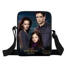 Сумеречная Сага Сумка-почтальон мини женская сумка мужские дорожные сумки на плечо Детская сумка игрушечные закуски сумки с ремнем через плечо