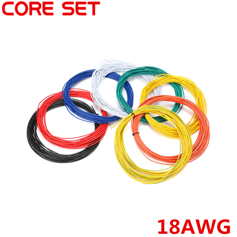 10 Meters UL 1007 Wire 18AWG 2.1mm PVC Wire Electronic Cable UL Certification Insulated LED Cable For DIY Connect 8 Color fisma certification page 8