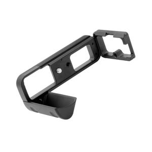 Image 2 - Profesyonel L topu kafa plakası hızlı bırakma kurulu QR braketi montaj adaptörü Fuji Fujifilm X T1 kamera tripodu aksesuarları