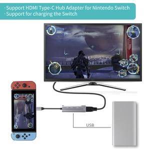 Image 5 - USB tipi C HUB USB C HDMI 4K USB 3.0 2.0 Thunderbolt 3 Dex modu adaptörü MacBook için Dock pro Samsung S10 S9 huawei P20 Pro