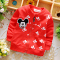 Hot! 2016 newborn baby boy and girl coat 100% cotton material cartoon girls jacket children 1-2 years old free shipping