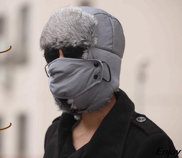2015 New Winter Warm Menu0027s Hats Balaclava Face Mask Hat Veil With Ear  Beanies For Men Cap Balaclava Casual Winter Cap Chapeu In Skullies U0026  Beanies From ...