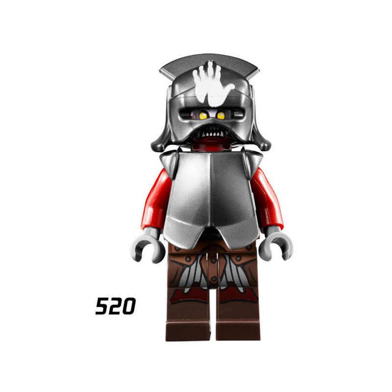 ขายเดียว Super Star Wars 520 Uruk hai บล็อกอาคารรูปอิฐของเล่นเด็กของขวัญใช้งานร่วมกับ Ninjaed