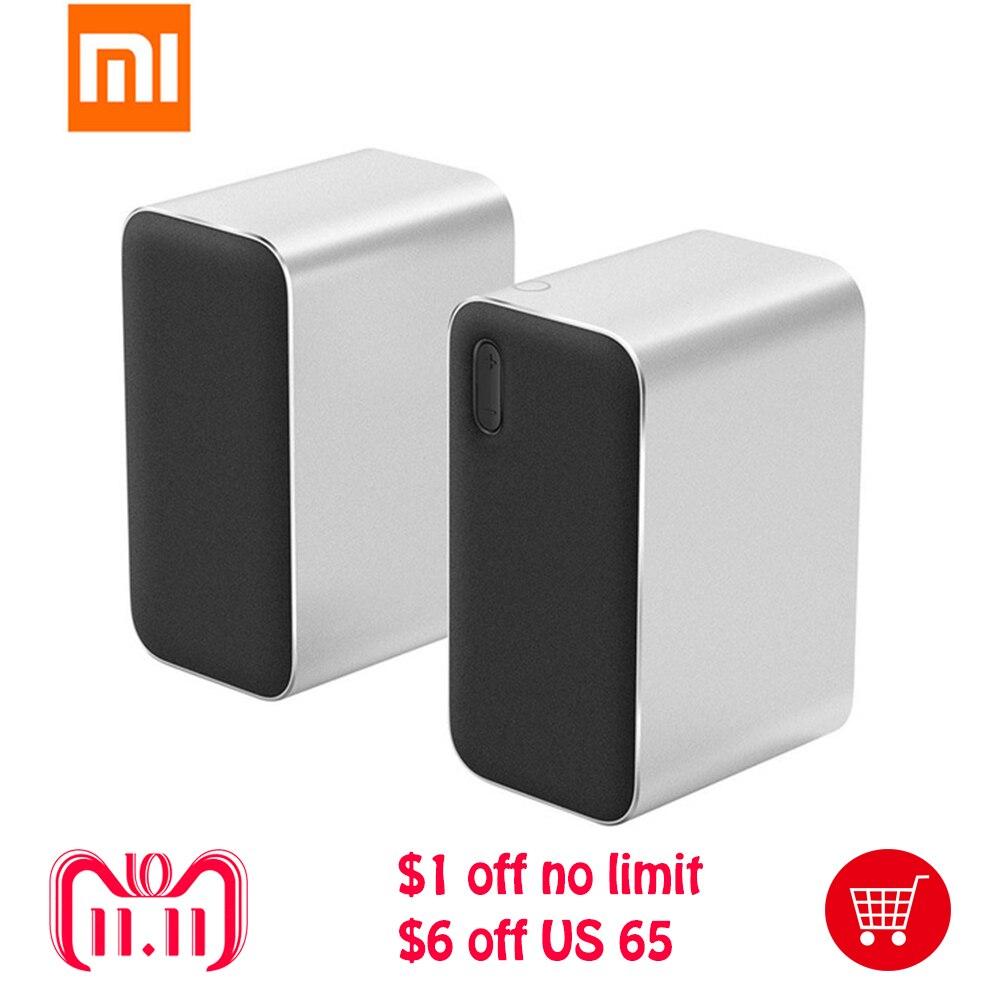 New Original Xiaomi Computer Speaker Bluetooth Speaker 12W 2.4GHz Stereo Double Bass DSP Voice Calls Xiaomi Portable Speaker все цены