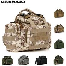 DASNAKI High capacity fishing bag for lures 38*18*20CM fishing tackle bag waterproof lure fishing bags for reels