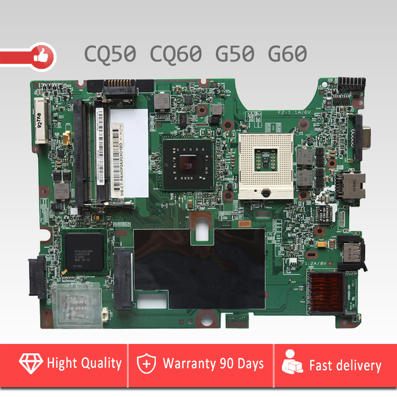 YTAI 48.4H501.021 GL40 mainboard for HP Pavilion G50 CQ50 G60 CQ60 laptop Motherboard 48.4H501.021 GL40 mainboard fully tested 578232 001 laptop motherboard cq60 g60 sales promotion full tested