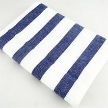 50pcs high quality Blue white check striped tea towel kitchen towel napkin table cloth 100% cotton yarndye fabric цена