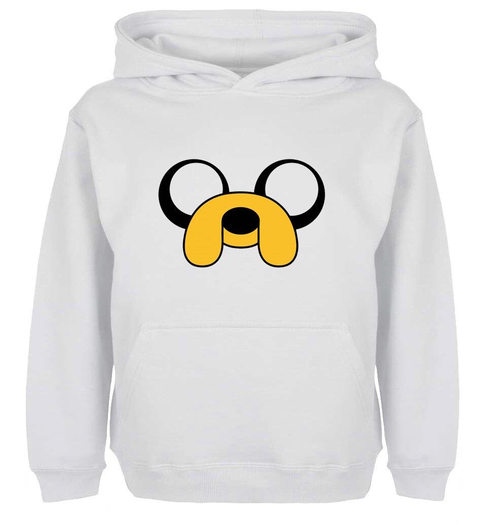 Image 2 - Cute Cartoon ADVENTURE TIME Jake Dog Design Hoodie Mens Boys   Womens Ladys Girls Comfortable Sweatshirt Topsdesigner  sweatshirtsweatshirt designsweatshirt tops