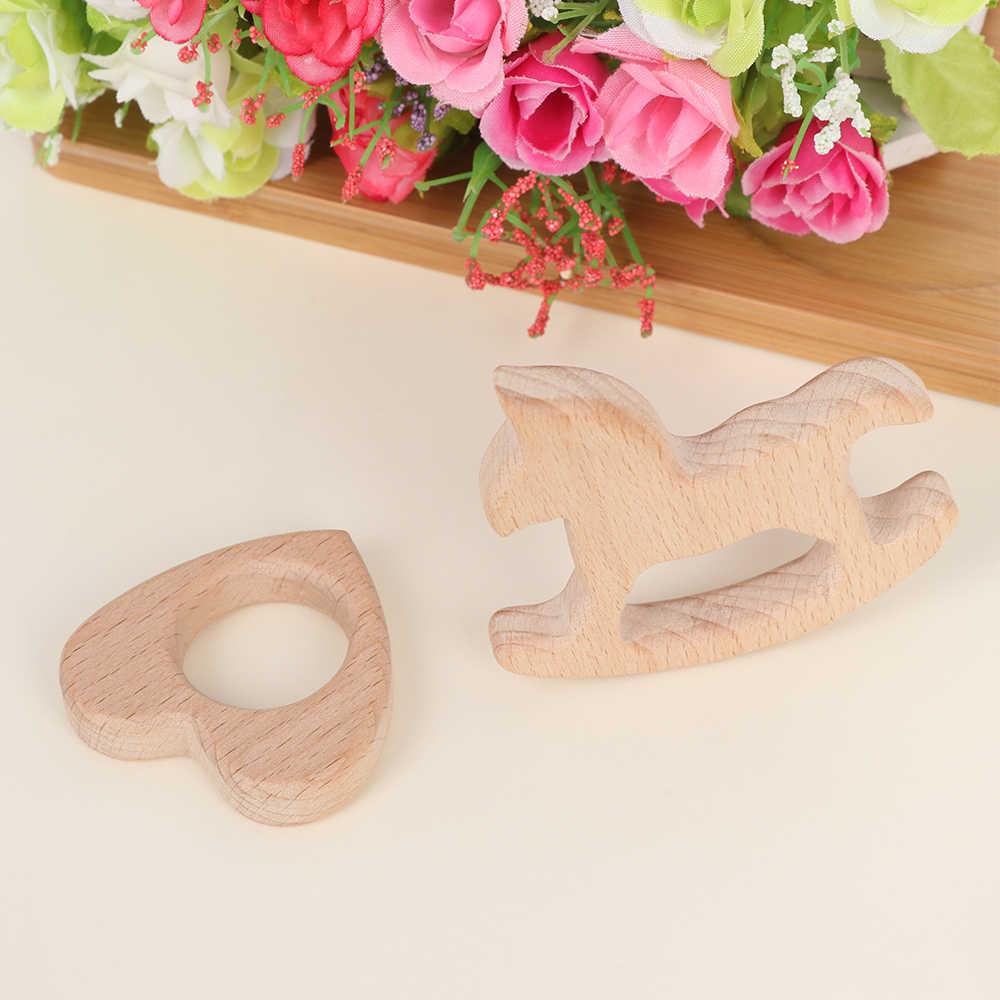 1 шт Прорезыватель DIY Детская Подвеска Прорезывание Зубов, игрушки милая форма животных Еда Класс органических материалов, подарок Детские трофеи