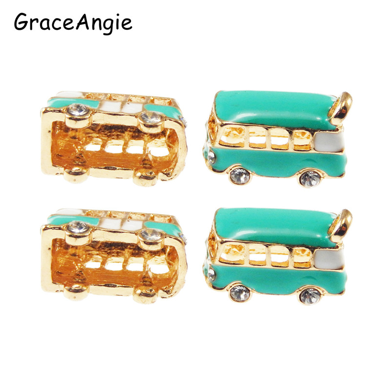 Wholesale 15pcs/pack Gold Enamel Alloy Charms Necklace pendants Jewelry Findings fine jewelry making Women Gifts 50963
