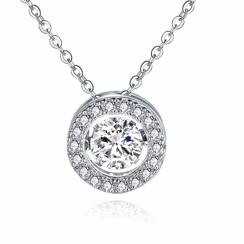 925-sterling-silver,sterling-silver-jewelry,dancing-diamond-jewelry,sterling silver charm 925 zirconia NP57620A (1)