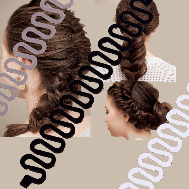 Fashion 1 PC Women Disk Device Hairpins For Women Hair Braiding Tool Fashion Hai