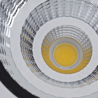 YUNLIGHTS LED Light Super Bright 12W COB LED Ceiling Light Lamp 6000K Downlight Spotlight With 95MM