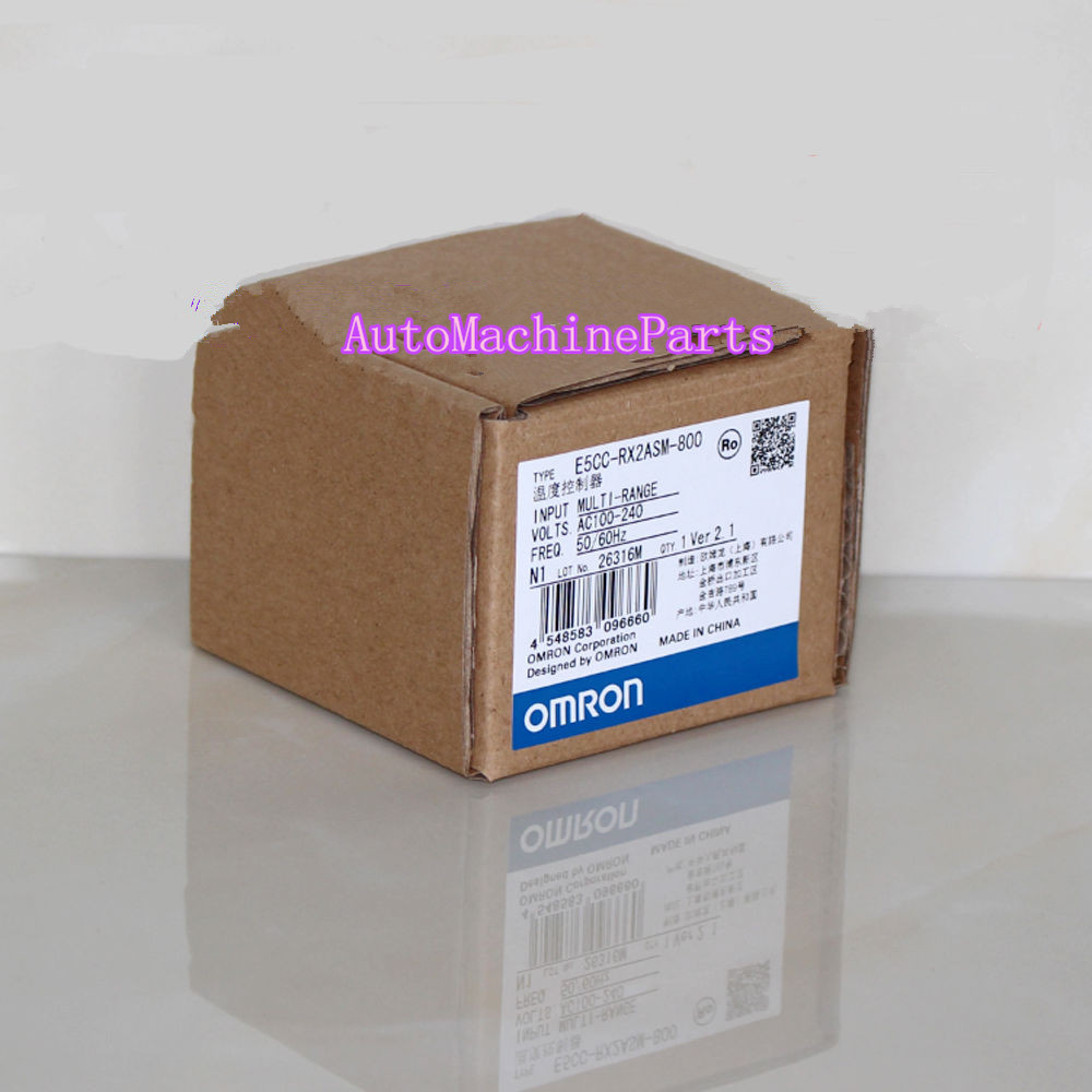 1PC New in Box For Omron Temperature Controller E5CC-RX2ASM-800 e5cc rx2asm 800 original new temperature controller e5ccrx2asm800 e5cc rx2asm 800