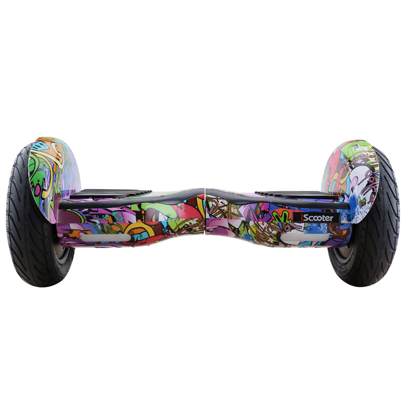 IScooter 10 Inch Self Balancing Scooter Electric Hoverboards With Bluetooth Speaker Carry Bag