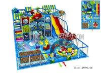Экспортируется в Россию три уровня коммерческих indoor Детские площадки для супер Рынок CE сертифицированный 160219b