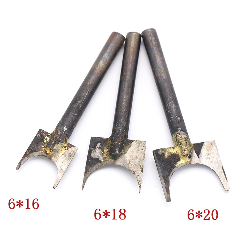 3mm 6mm Shank Fixed 3-20mm Ball Welding Milling Cutter Wood Beads Drill Bits Woodworking Router Bit Fresas Para Router Madera