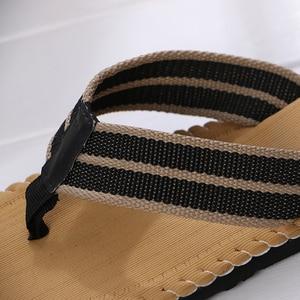 Image 5 - 2019 Strand/Home Zomer Schoenen Mannen Slippers Maat 41 44 Ademend Zolen Schoeisel Man Casual Flip Flops designer heren schoenen