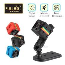 Original SQ11 Mini Câmera Full HD 1080 p com Detecção de Movimento 6 Luz de Visão Noturna Infravermelha, pequeno portátil Dv Cam