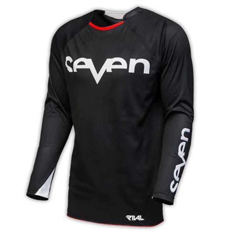 Dh-Shirt Motorcycle-Clothing Motocross-Jersey Mountain-Bike Downhil Seven Brand-New MX