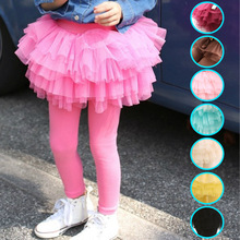 girls pants spring autumn new wear childrens stretch cotton gauze multicolor wild trousers leave two pieces