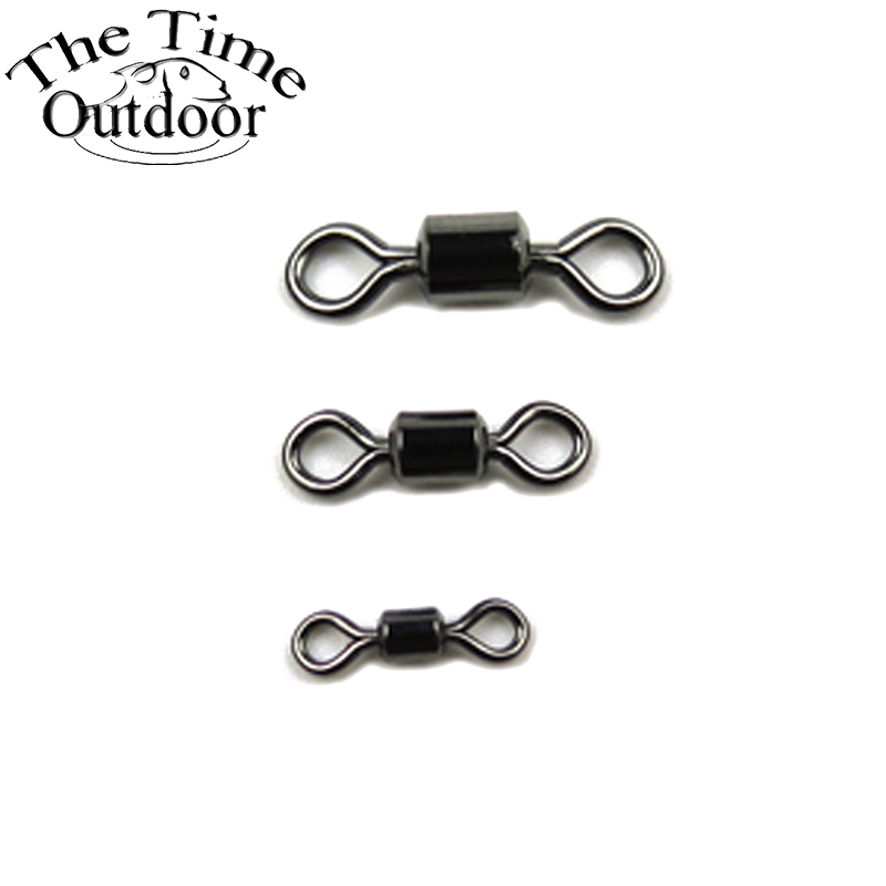 100pcs fishing rolling swivels connector ball bearing solid rings swivel for carp fishing. Black Bedroom Furniture Sets. Home Design Ideas