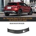 Спойлер для задней крыши из углеродного волокна для Mercedes Benz GLA Class CLA200 CLA250 CLA45 AMG Base Sport 2013-2018