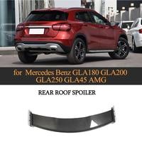 Carbon Fiber Rear Roof Lip Spoiler For Mercedes Benz GLA Class CLA200 CLA250 CLA45 AMG Base Sport 2013 2018