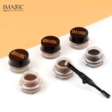 IMAGIC Eyebrow Makeup Waterproof Moisturizing Gel Lasting Natural Brown Enhancement Cream with Dildo