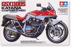 Motorcycle Assembly Model Kit 1:12 SUZUKI GSX1100 KATANA 14065 Toy Model Collection Gift moto model 1 6 suzuki suzuki gsx1100a katana 16025 model buiding kits