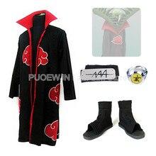 Hot Naruto Akatsuki Zetsu Cosplay Costume Halloween Costume Full Set hot naruto sai cosplay costume halloween costume full set