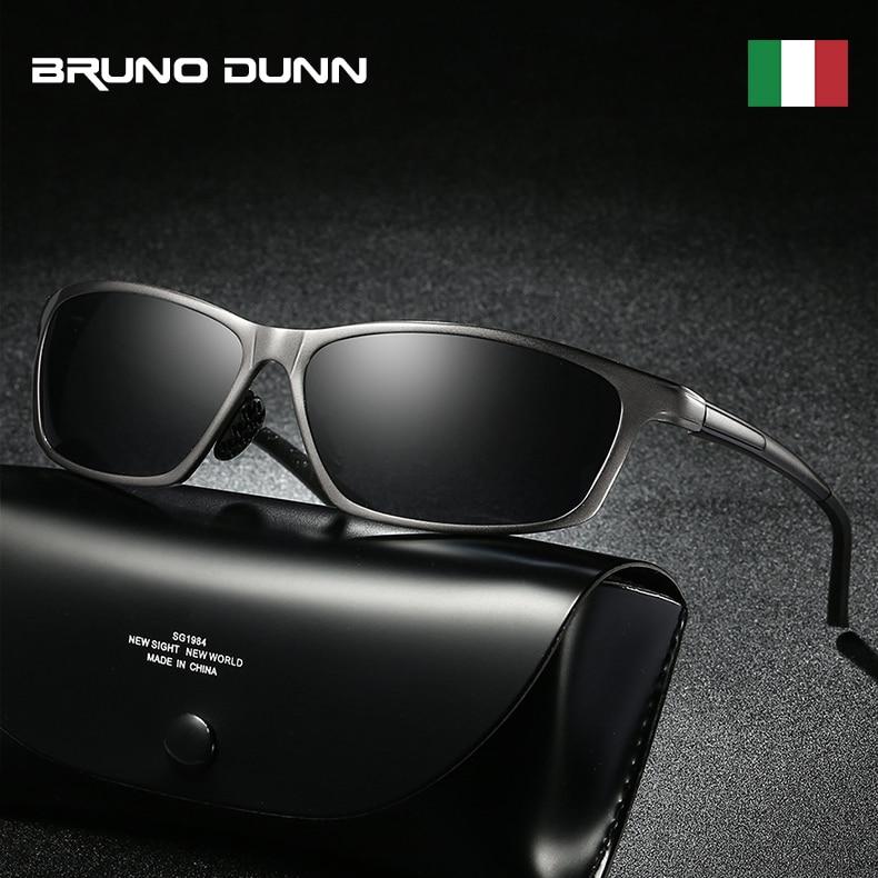 Bruno Dunn sunglasses Men Polarized Brand Design Sun Glases lunette de soleil homme zonnebril mannen oculos de sol masculino очки мерседес