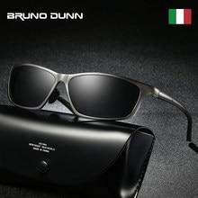 72250a5558 Bruno Dunn aluminio sunglases hombres polarizadas lujo mercedes marca  diseñador gafas de sol lunetas de soleil zonnebril mannen
