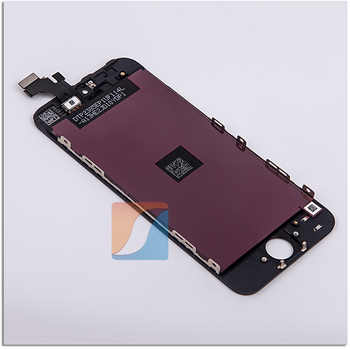 10PCS/LOT Grade AAA+++ For iPhone 5 5G LCD With Cold Press Glue Screen Assembly Display Replacement No Dead Pixel