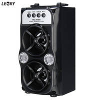 LEORY Support TF Card USB AUX Wireless Bluetooth Speaker 1000 Hours Super Long Standby Time Outdoor