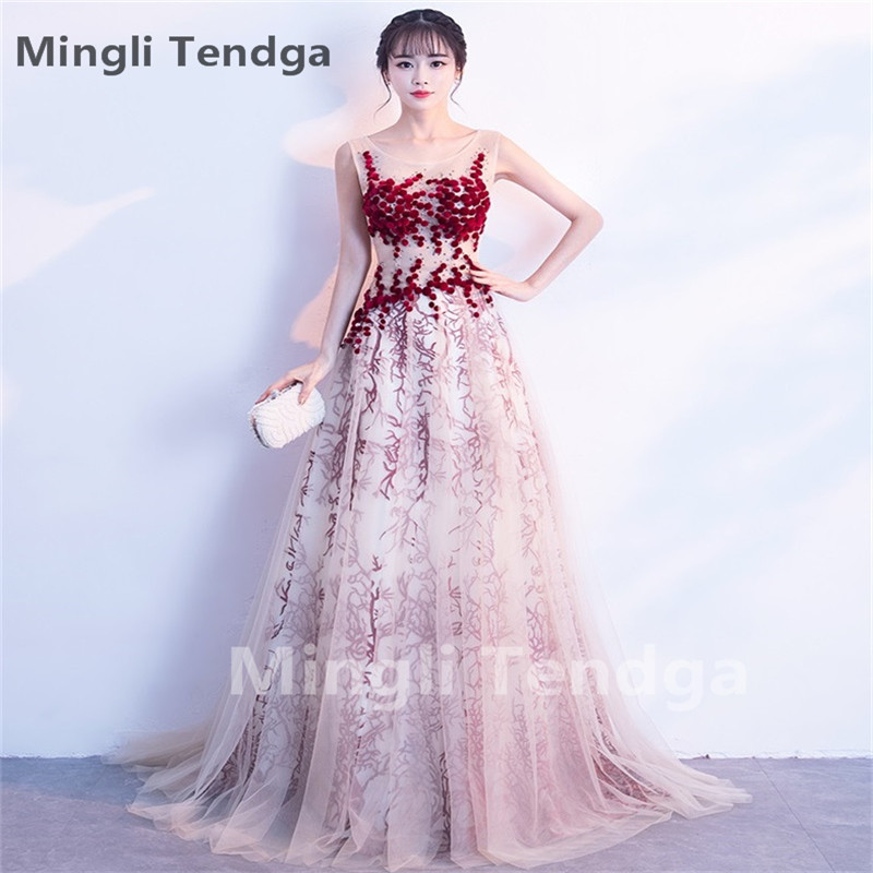 Mingli Tengda   Bridesmaid     Dresses   with Sleeves   Dresses   for Wedding Party   Bridesmaid     Dresses   Long Elegant Sweetheart   Dress   2018