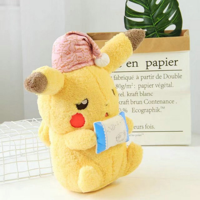 Kneeling Electric mouse Plush Toy Baby Sleeping Pillow Super Soft Japan Game Anime Doll toys for Boy and Girl Birthday Present