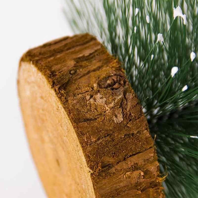 Mini Cây Giáng Sinh Vật Trang Trí Một Cây Thông Nhỏ Được Đặt Trong Máy Tính Để Bàn Gần Năm Trang Trí Giáng Sinh Cho Nhà Xmas Đảng nguồn Cung Cấp