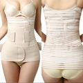 Waist Trainer Belly Belt Abdomen Belt Drawing Waist Corset Belt Breathable Waist Strap Binding with Section Bodysuit