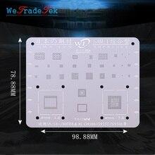 WL עבור Samsung S6 S6 + S8 S8 + S7 S9 S9 + הערה C7 J3 J5 A5 0.12mm עובי BGA Reballing סטנסיל ערכת רשת פח הלחמה תבנית