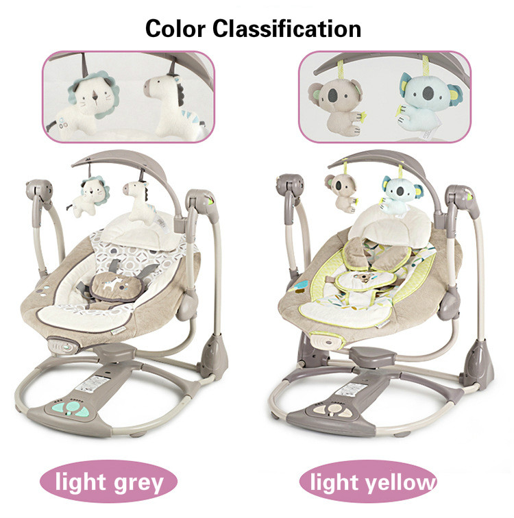 EU safety baby rocking chair 0-3 baby Electric cradle rocking chair soothing the baby's artifact sleeps newborn sleeping