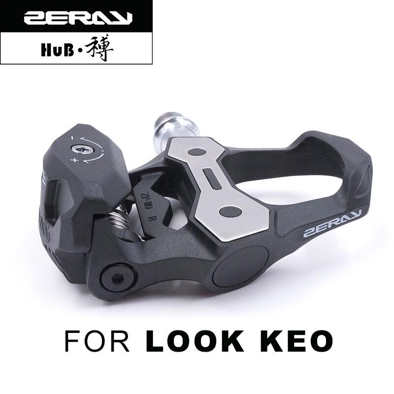 ZERAY 110 s Professionelle Look Keo Fahrrad Pedal mit klampe Radfahren Bike Pedal Clip Pedales Carbon Faser Rennrad Pedal