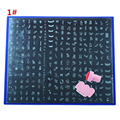 1pc  286 Images + 1set Stamping Tool Kit Big Stainless Metal Stamping Plates Nail Art Beauty Stamp Plate