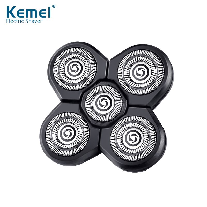 Kemei waterproof electric shaver head of kemei5886 waterproof spare The razor head 5D Shaving hair trimmer for man face care 2017 hot sales new primitive man shaving machine 5 d waterproof rechargeable crime is portable travel man to the electric razor