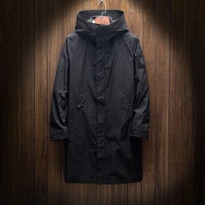 Men's Windbreakers Black...