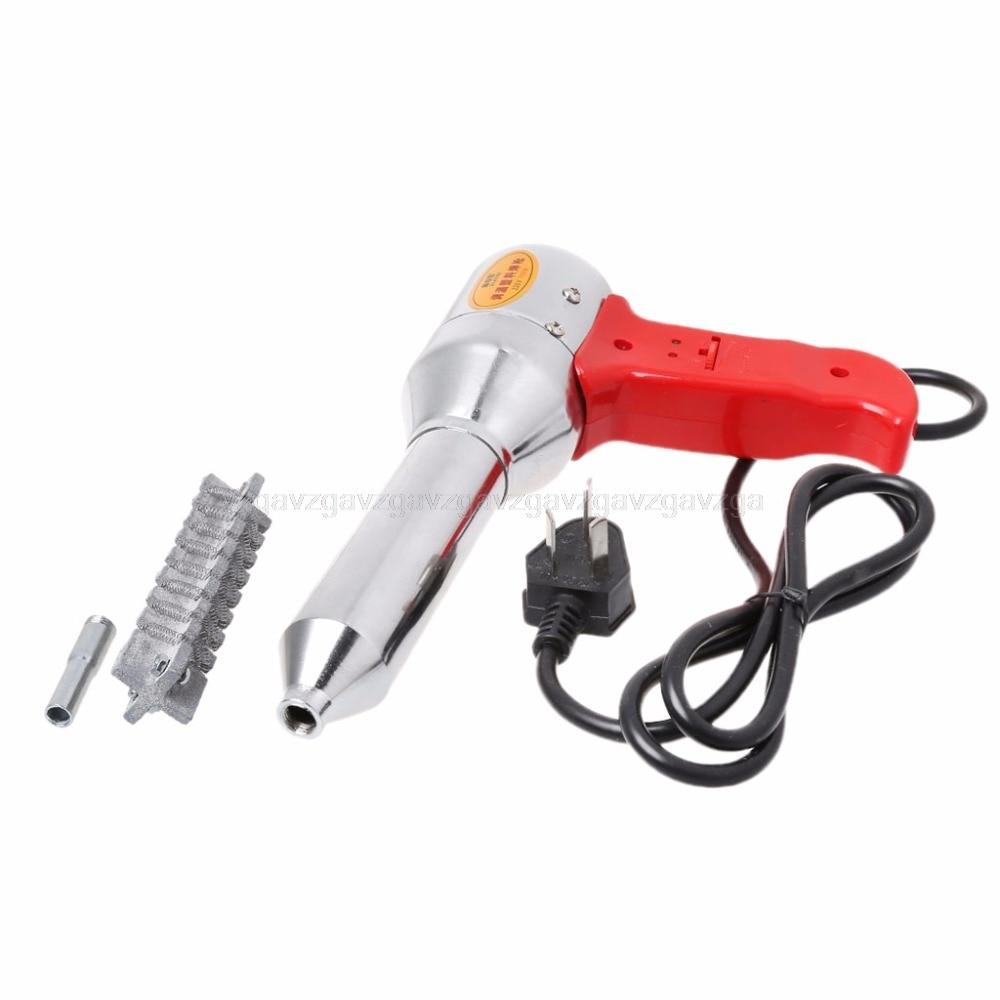 700W Plastic Welding Torch Industrial Hot Air Soldering Gun Ceramic Heater Au16 Dropship